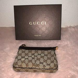 Gucci makeup pouch